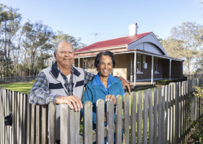 Carrington's respite cottage restored